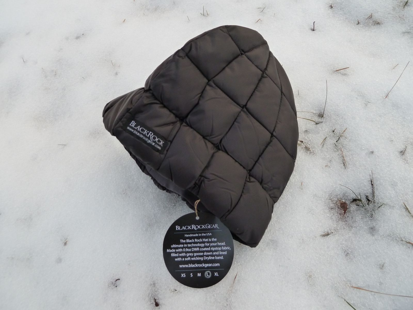 Black Rock Hat - Daunenmütze