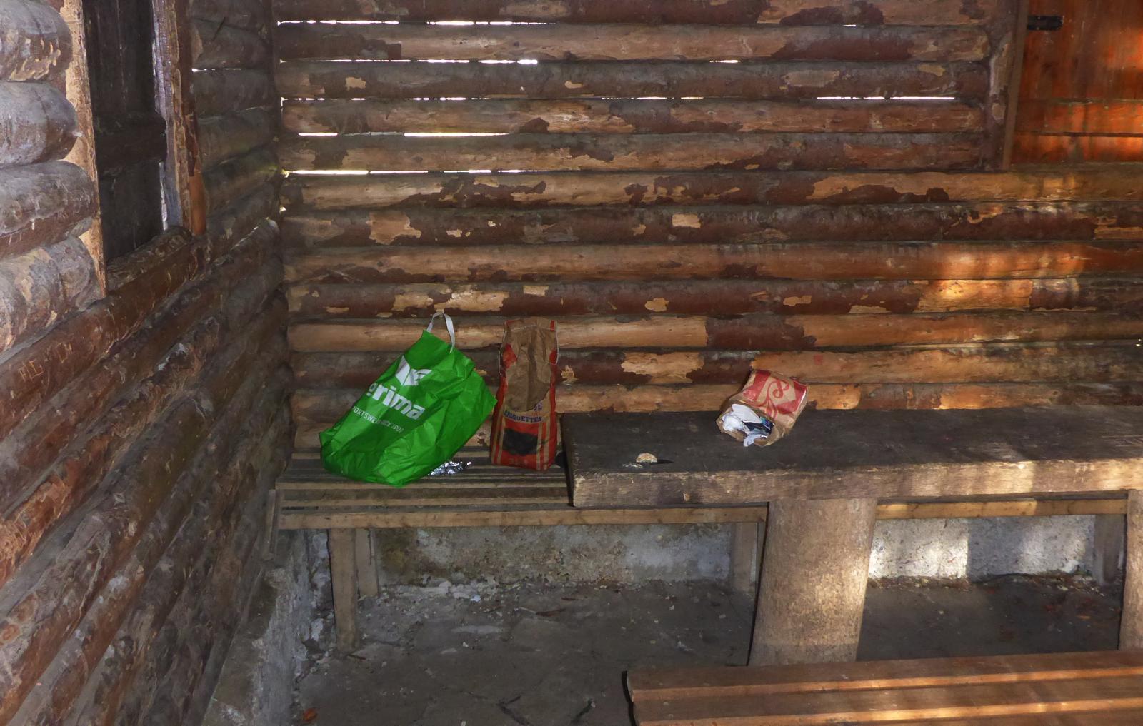 Spielverderber in der Bolberghütte