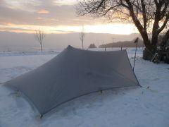 MLD TrailStar vor dem Sonnenaufgang