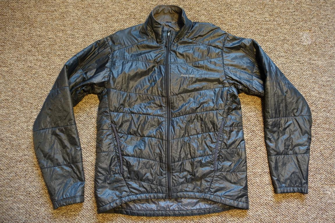 BIETE] MontBell Thermawrap Jacket, Grey, Gr.: L 289g