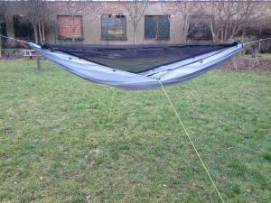 SnoozeToob Vario hammock + bug net mode