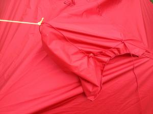 Joyn tent mode hood ventilation attachment