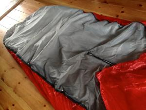 Joyn minimal quilt layer -5C filling setup missing cordage