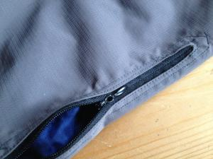LifePants grey zip pocket