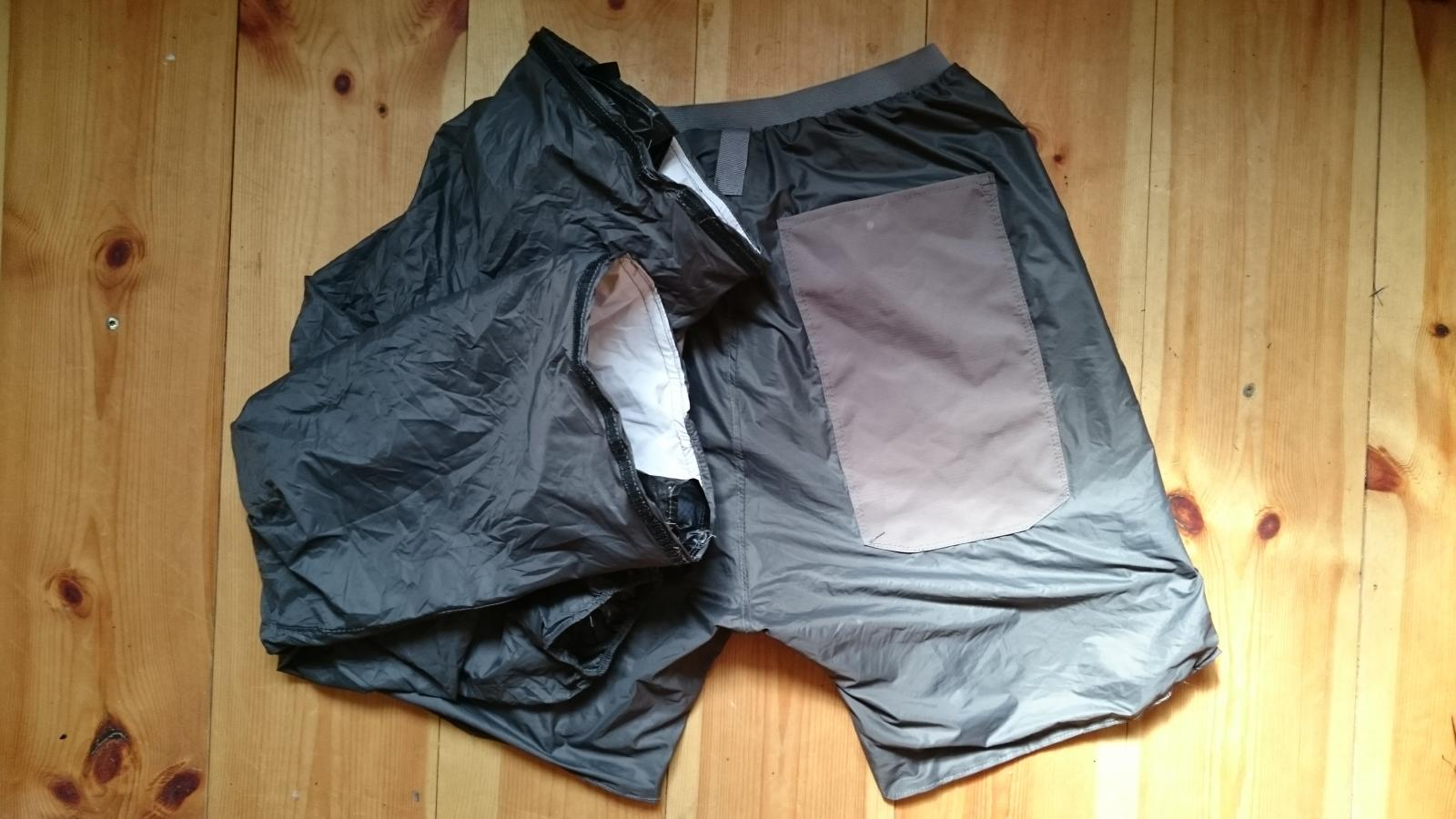 MultiPants Taffeta zipped-off