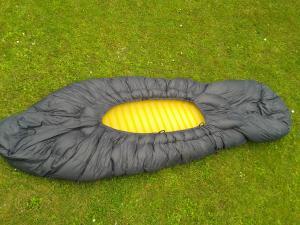 Isomatte im Topbag für richtig kaltes Wetter
