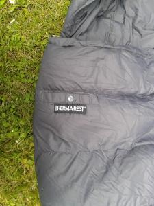 Außentasche am Schlafsack