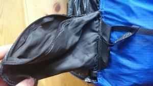 200g MYOG pack hip pockets