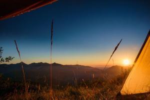 Camp 6 morgens