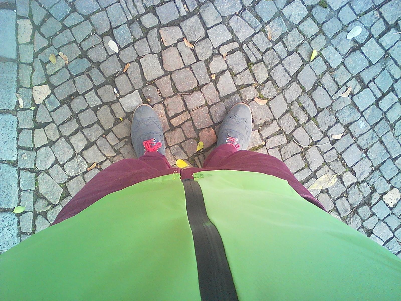 Unibody rain jacket