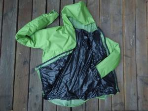 Unibody rain jacket