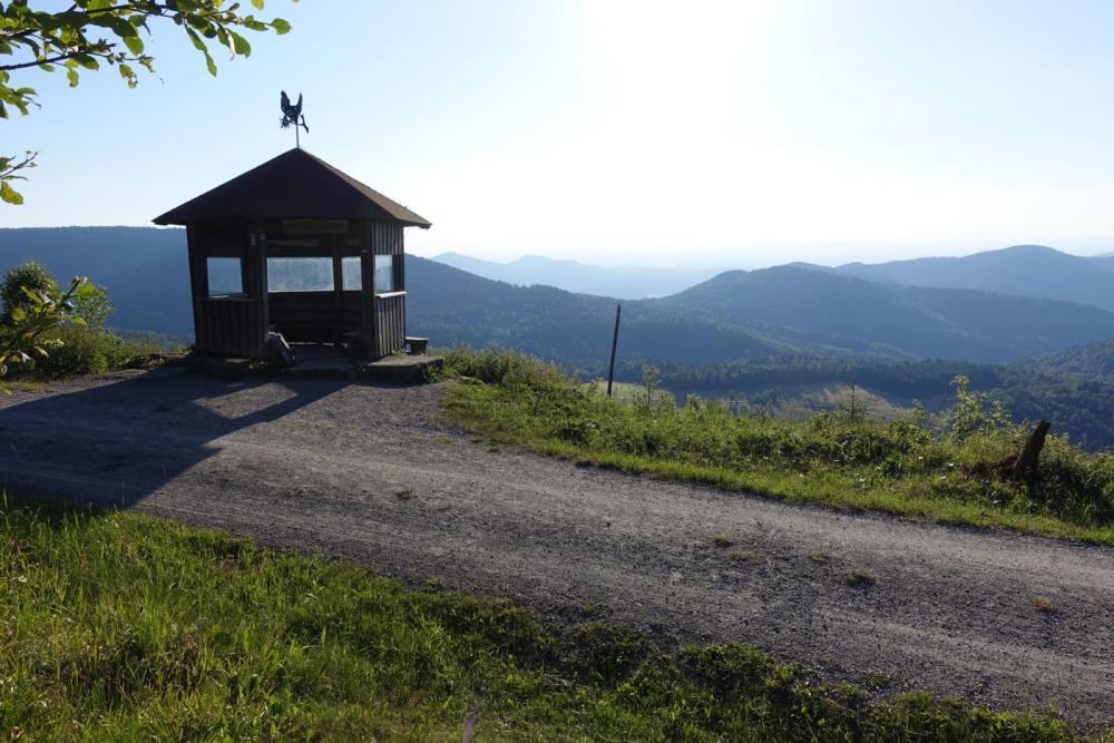 Schweizerkopfhütte - herrliche Aussicht